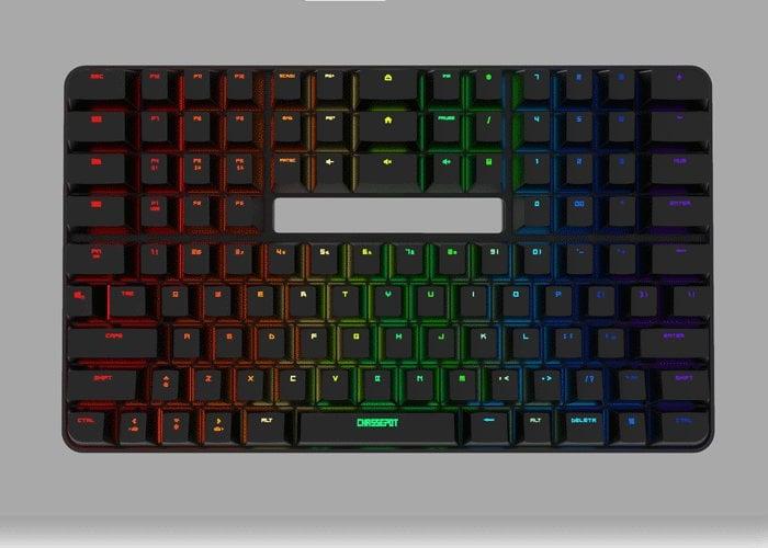 Chassepot C1000 mechanical keyboard