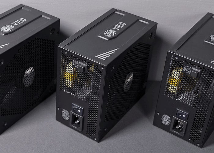 Cooler Master V Gold Series 80 Plus power supplies launched