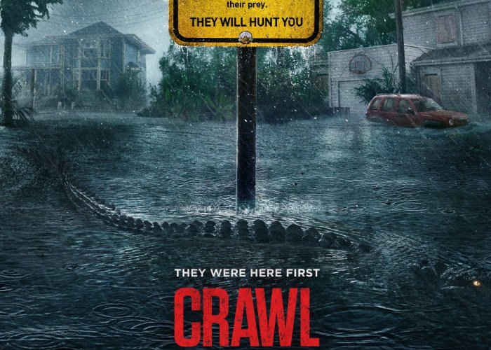 Movie Poster 2019: Crawl 2019 Movie Official Trailer