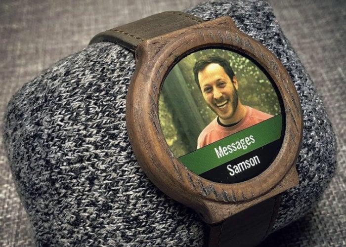 DIY smartwatch