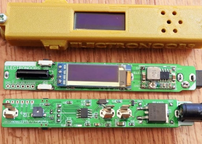 DIY wireless soldering iron kit
