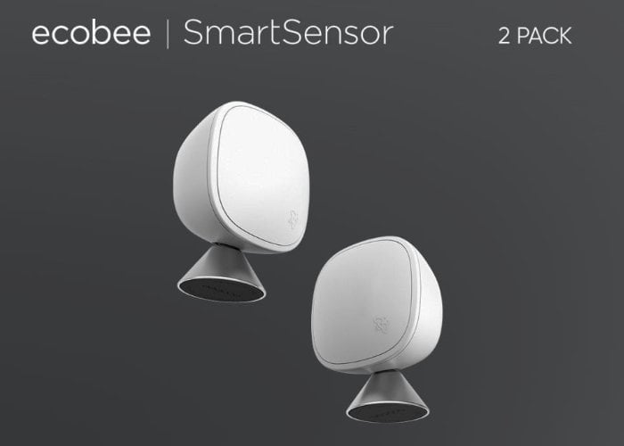 Ecobee smart thermostat and smart sensors