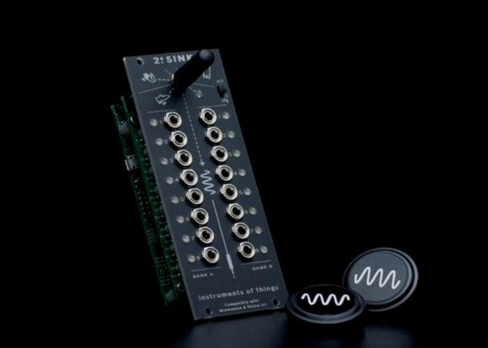 2 4sink sensor interface for eurorack modular synthesizers geeky gadgets. Black Bedroom Furniture Sets. Home Design Ideas