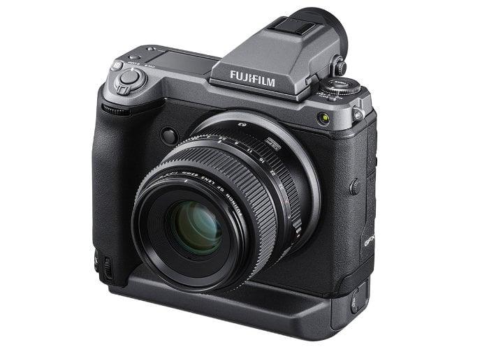 Fujifilm GFX100 mirrorless camera