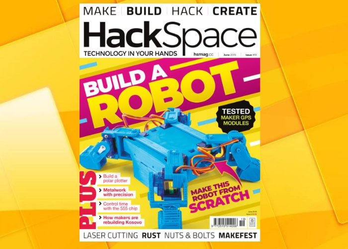 HackSpace magazine helps you build your first robot this month