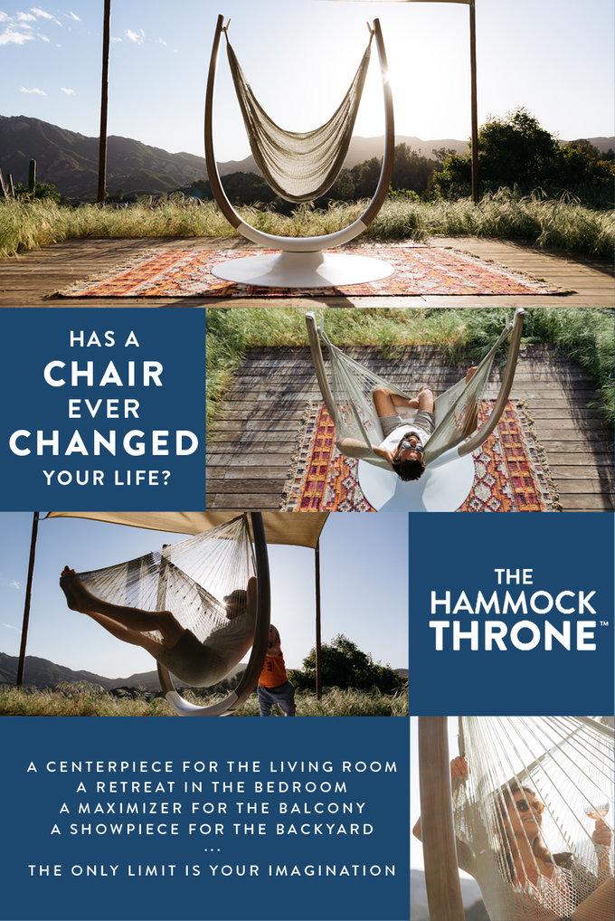 Hammock Throne
