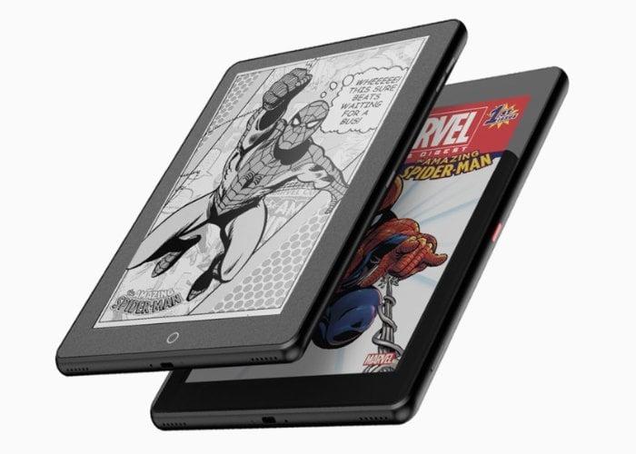 Janus dual screen eInk tablet