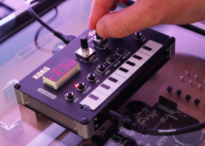 Korg DIY digital synthesiser