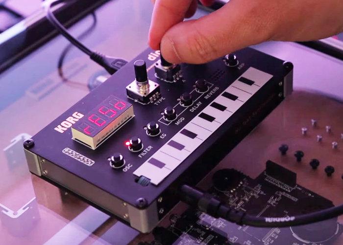 Korg creating solderless DIY digital synthesiser