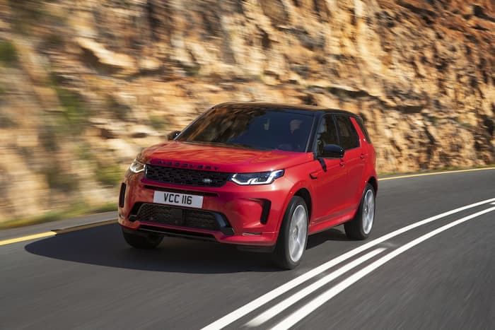 Land Rover Discovery Sport shown off on video