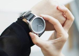 LunaR solar charging smartwatch