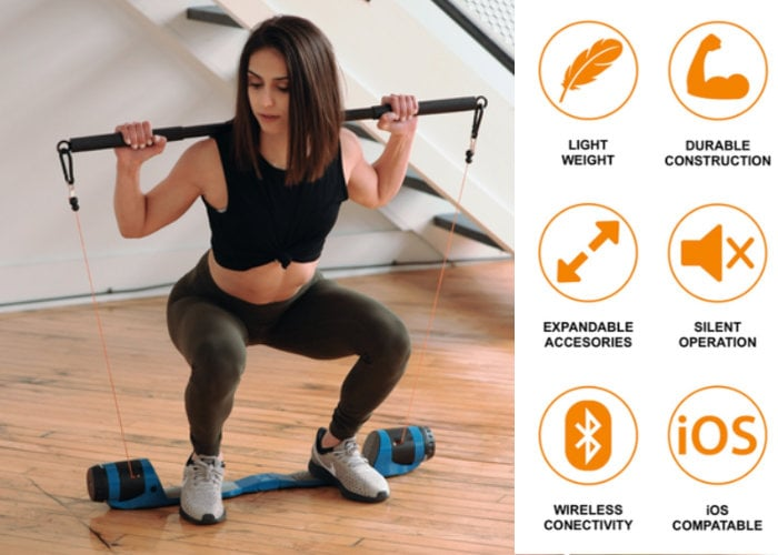 Maxfit portable all-in-one gym