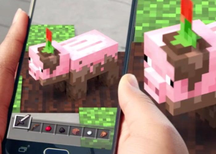 Minecraft AR game