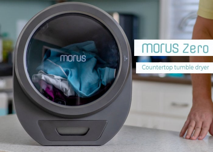 Morus Zero countertop tumble dryer