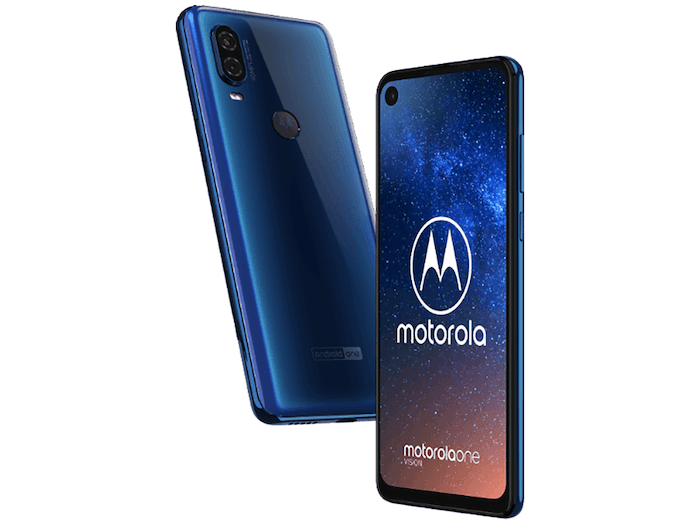 Motorola One Vision leaked again