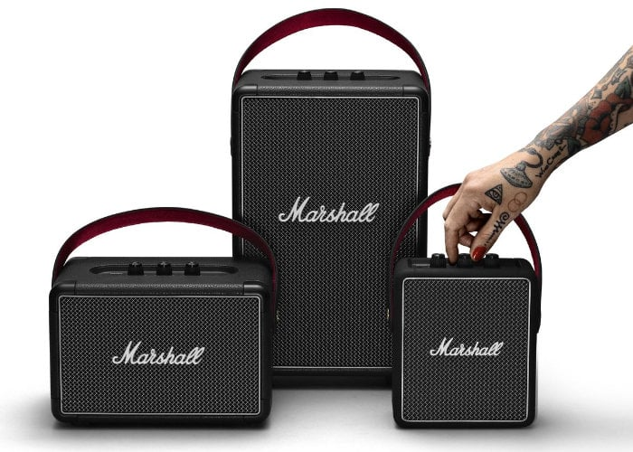 New Marshall Bluetooth speakers