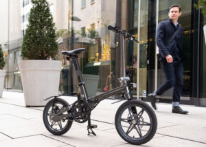 One electric folding bike