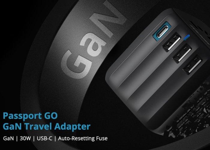 Passport GO versatile travel adapter