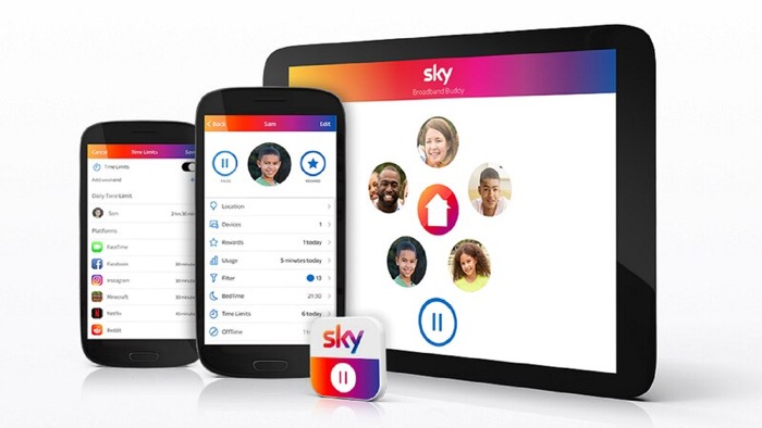 Sky Broadband Buddy App
