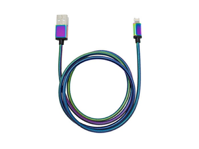 Tech2 MFI Metal Charge & Sync Lightning Cable