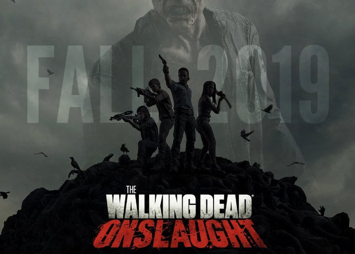 Walking Dead Onslaught VR game