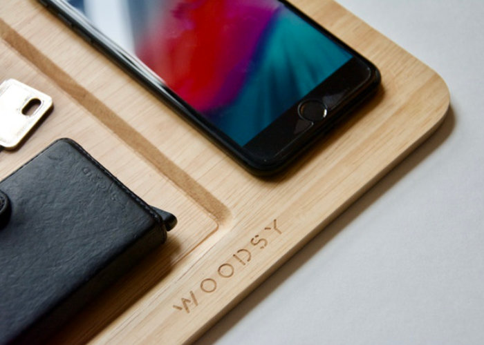 Woodsy 15W wireless charging pad
