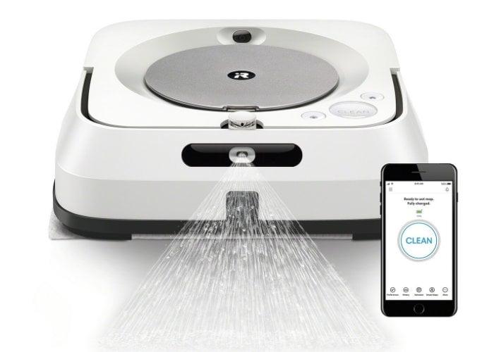 iRobot Roomba and Bravaa mop