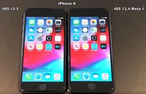 iOS 12.4 beta 1 vs iOS 12.3