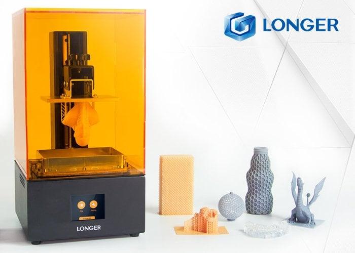 Longer Orange 30 SLA 3D Printer