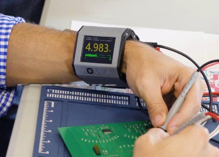 wearable multimeter
