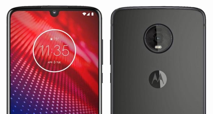 New Motorola Moto Z4 smartphone leaked