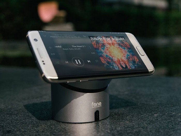 MusiQi Wireless Charger & Speaker