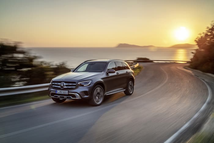 Mercedes GLC Starts at £39,420