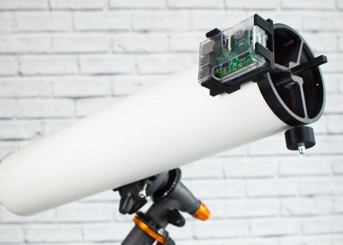 3D printed PiKon telescope