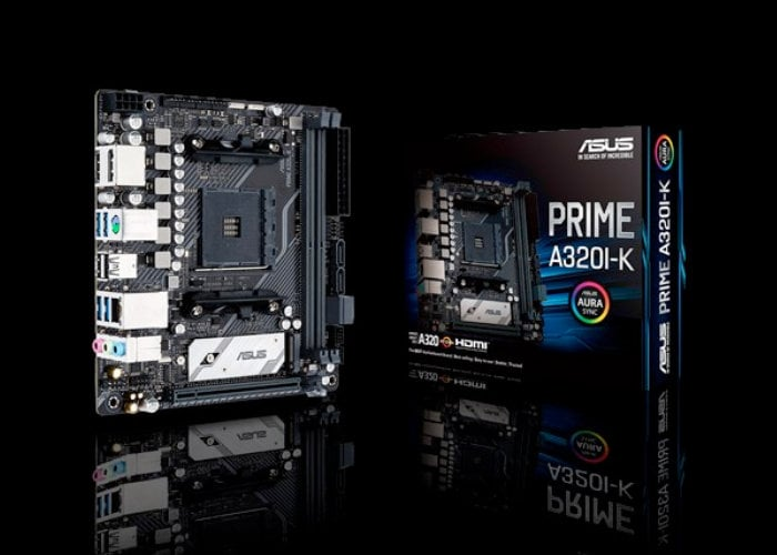 ASUS Prime A320I-K Mini-ITX motherboard introduced