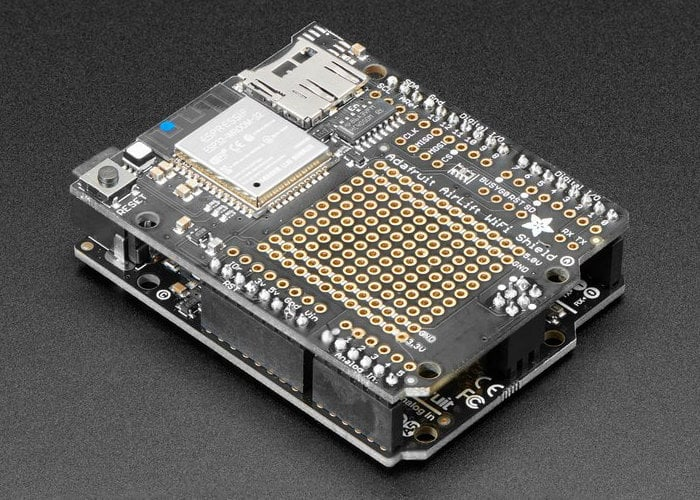Arduino AirLift Shield ESP32 WiFi co-processor arrives at