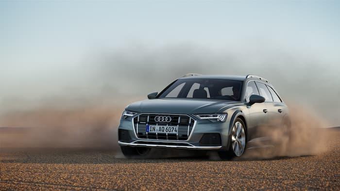 Audi A6 Allroad Quattro revealed