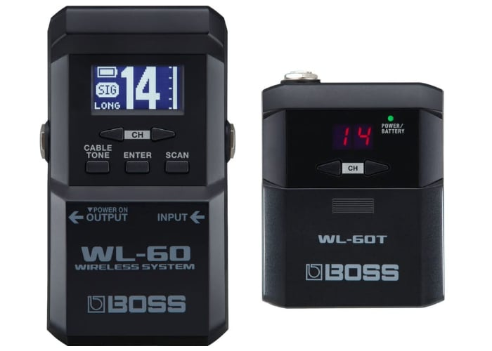 Boss WL-60 wireless pedalboard