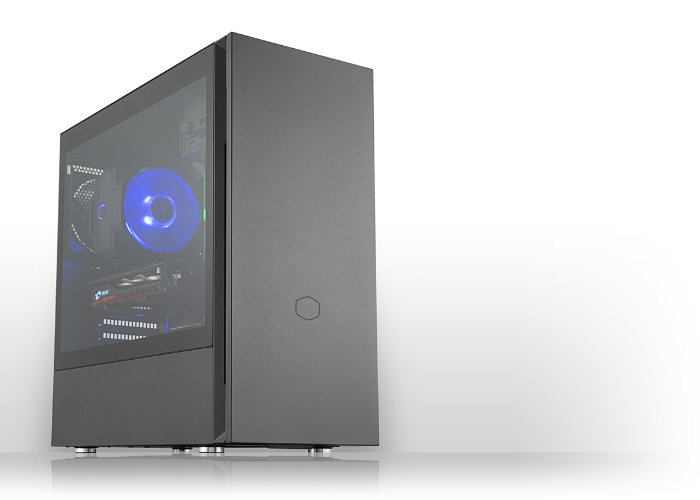 Cooler Master Silencio S400 and S600 PC cases unveiled