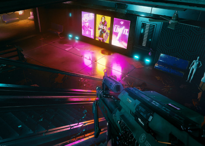 Cyberpunk 2077 RTX Ray Tracing