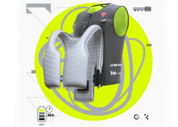 Dainese biker airbag vest