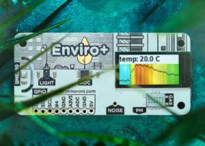 Enviro+ Raspberry Pi air quality monitor