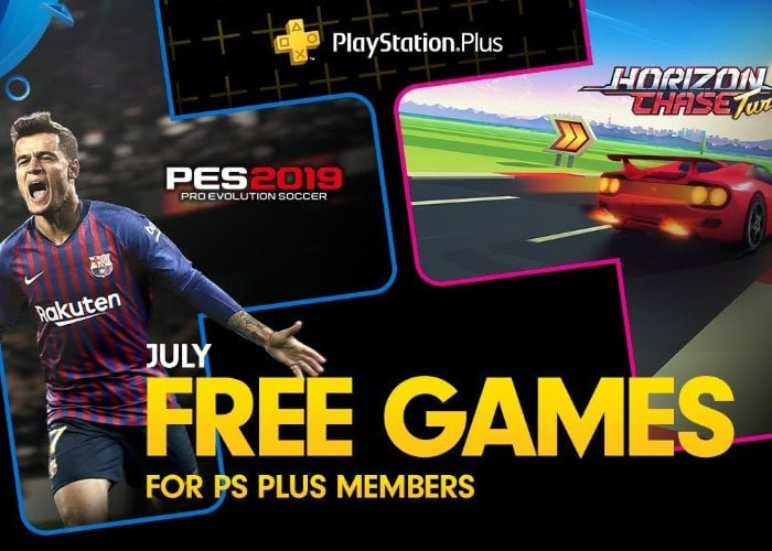 Free PlayStation 4 games with Plus intoduced for July 2019