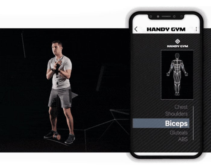 Handy Gym App