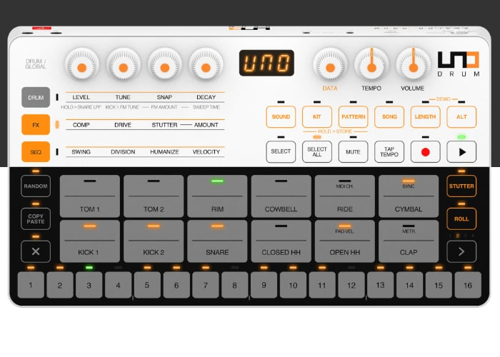 IK Multimedia Uno Drum machine