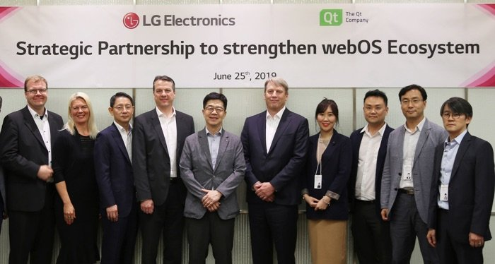LG expands partnership with Qt Company on webOS