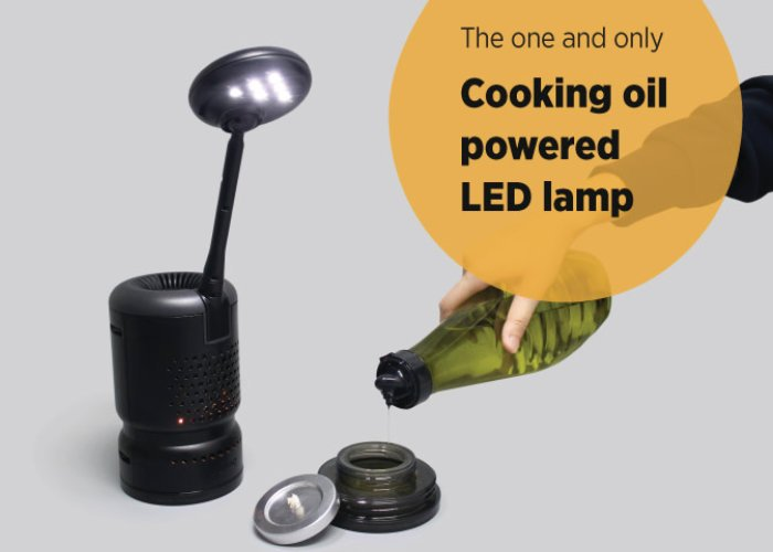 Lumir K oil LED lamp