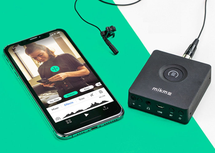 Mikme Pocket professional pocket wireless audio recorder