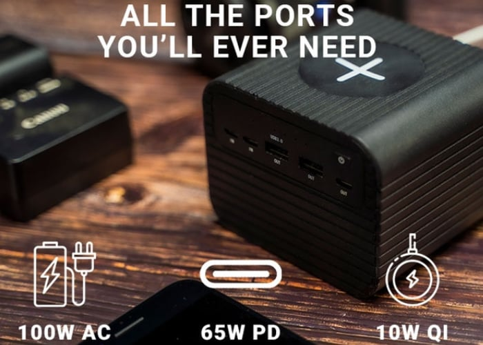 Monster 100w portable power solution