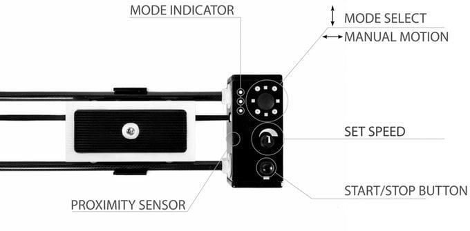 Motorised camera slider
